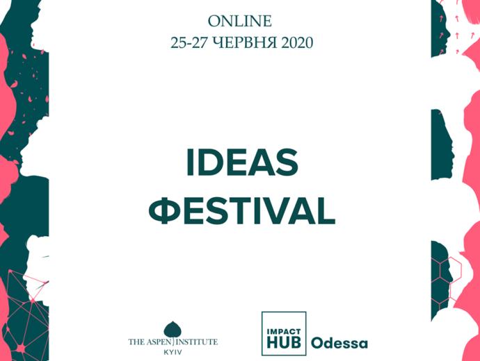 Outcome of the Ideas Festival 2020