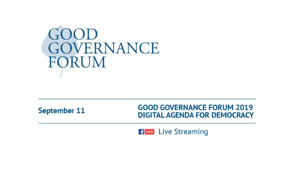Good Governance Forum 2019 – Aspen Institute Kyiv