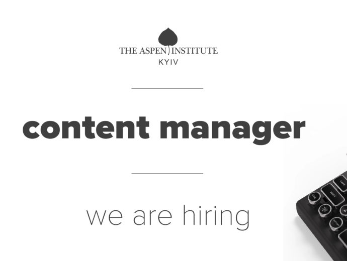 We're hiring: Content Manager