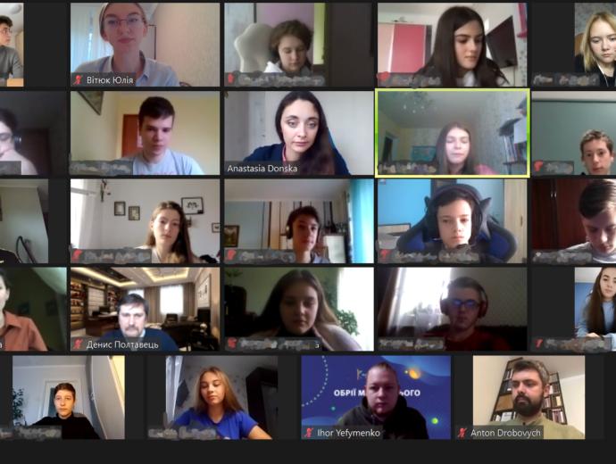 """Відбувся філософський семінар для підлітків """"Обрії майбутнього 6.0"""""""