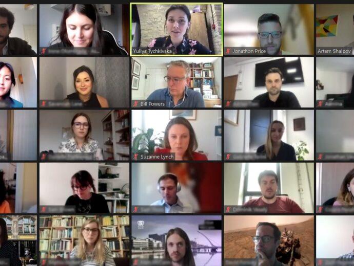 """Молоді лідери обговорили перспективи трансатлантичних відносин на міжнародному семінарі """"The NextGen Network: Transatlantic Initiative"""""""