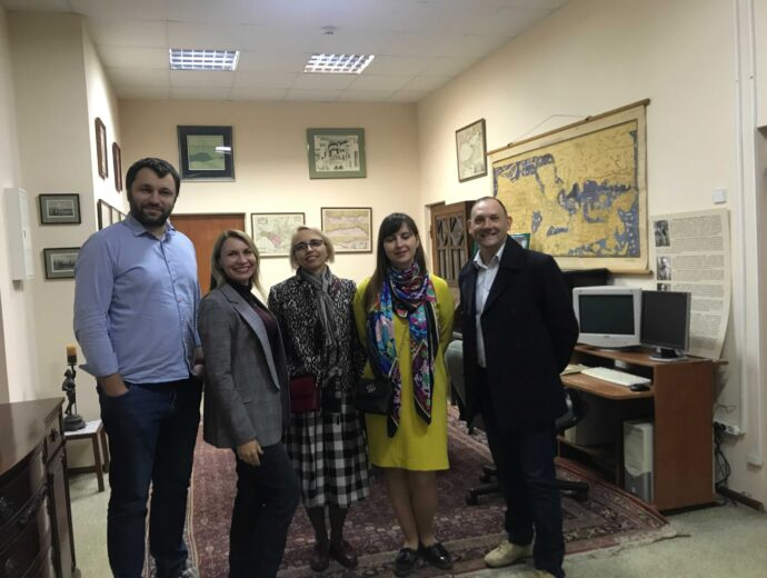 Аспен-тур до архіву Омеляна Пріцака: Аспен Інститут Київ підтримує ініціативи учасників Спільноти